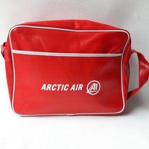 Arctic Airlines Travel Bag Pilot Bag Red White